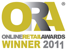 Online Retail Awards Winner 2011 Logo