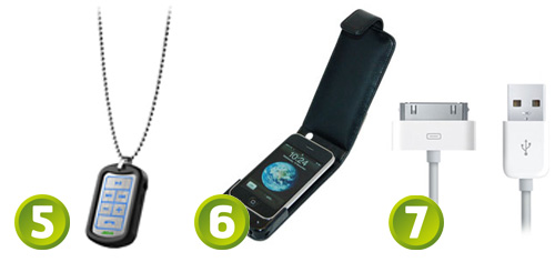 Stereo Headsets and Charging Cases for iPhone 3GS