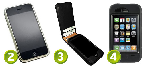 Protective Cases for the iPhone 3G and iPhone 3GS