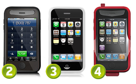 iSkin Fuze, Solo and Revo2 for the iPhone 3G and iPhone 3GS