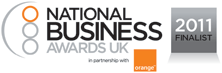National Business Awards UK 2011 Finalist Logo
