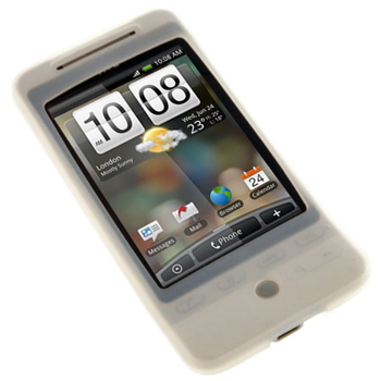 Silicone Case for HTC Hero - Ice