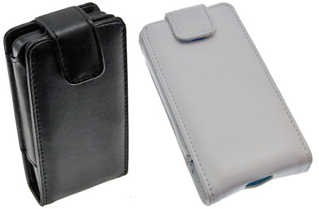 HTC Hero Leather Flip Case