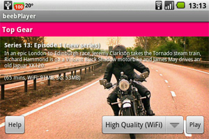 beebplayer pour Android