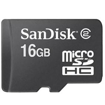 Carte SanDisk Micro SDHC - 16Go