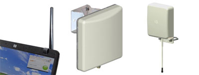 Clip Antenna - High Gain Antenna - Outdoor Panel Antenna