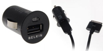 Belkin Micro Auto Car Charger Included