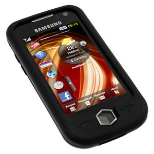 Silicone Case (Samsung Jet shown here)