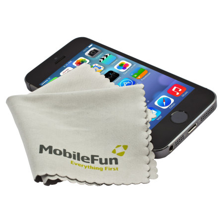 Mobile Fun microfibre cleaning cloth