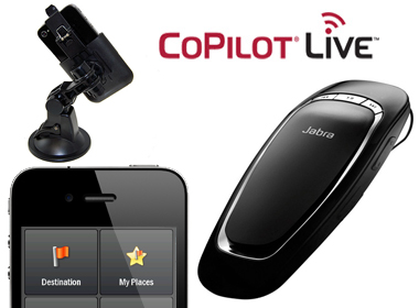Use the Car Pack and Jabra Cruiser to get the most out of CoPilot Live