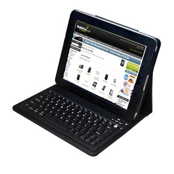 KeyCase iPad Folio Case with Built in Bluetooth Keyboard