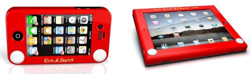 Etch A Sketch Cases for iPad and iPhone