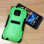 Trident Aegis Case for HTC One near handset