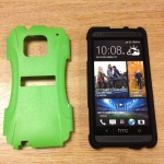 Trident Aegis Case for HTC One hard shell off
