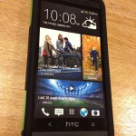 Trident Aegis Case for HTC One front view