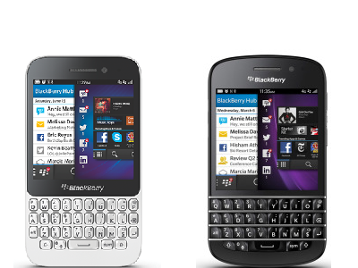 BlackBerry Q5 versus Q10