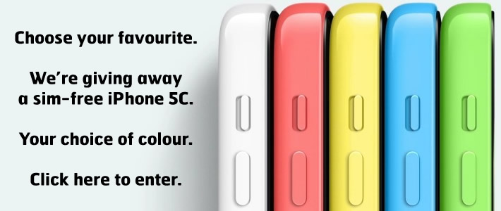 Win a free phone of your choice