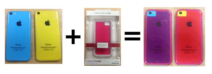 iPhone 5C colour change