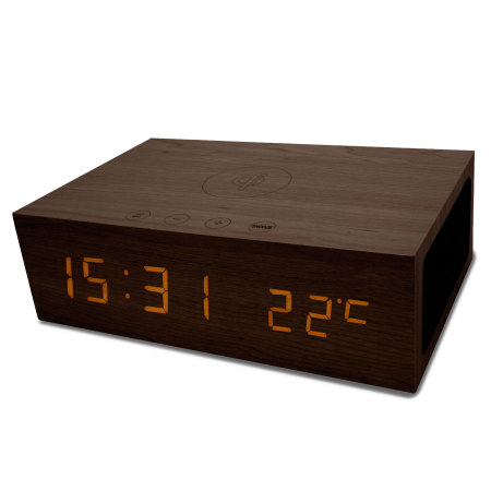 Desk charger, clock and radio