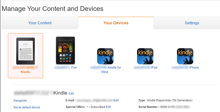 which kindle do i have serial number