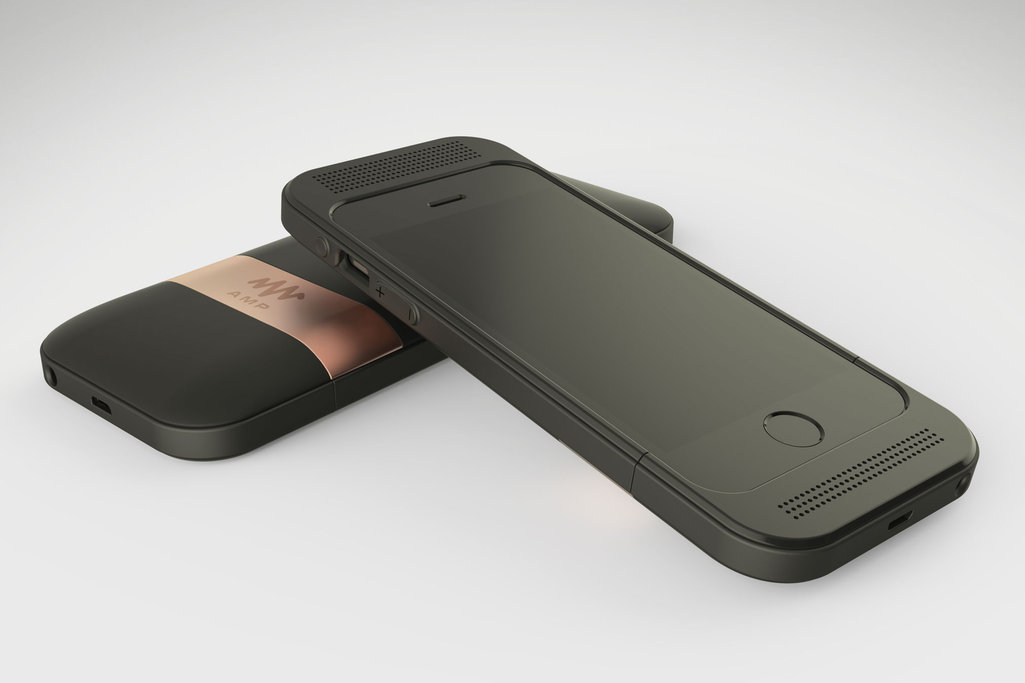 Amp case gives your iPhone 6 dual front facing speakers