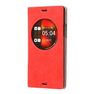 Zenus Z-View Dolmites Samsung Galaxy Note 4 Diary Case - Red