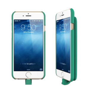 Lepow PIE Magnetic iPhone 6 Battery Case 3,000mAh - Green