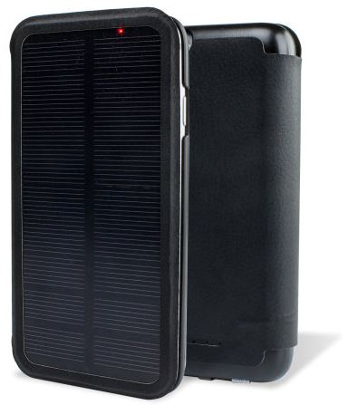 Solar Powered iPhone 6 Battery Case