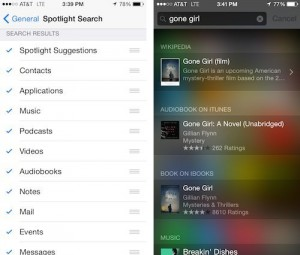Spotlight Search
