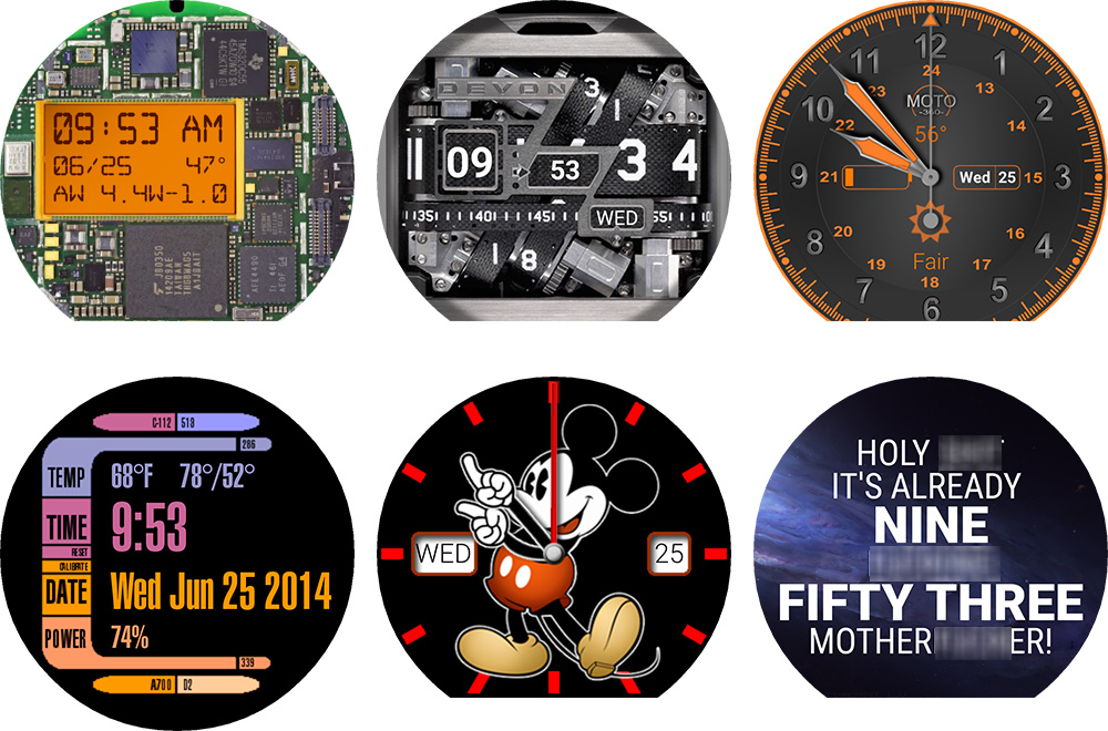 Facer android wear - Custom Watch Faces For Android Wear Smartwatches Mobile Fun Blog