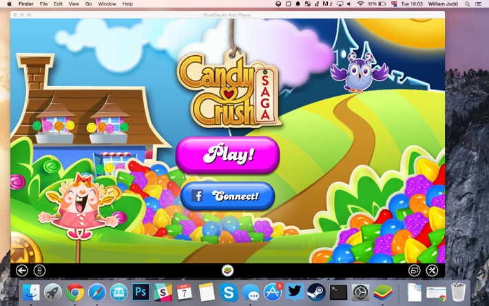 play android games on mac os x