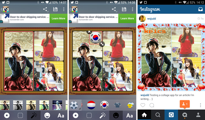 How to create Instagram collages on Android | Mobile Fun Blog