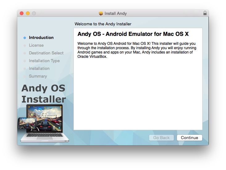 Run Android apps on Mac the easy way: Andy the Android