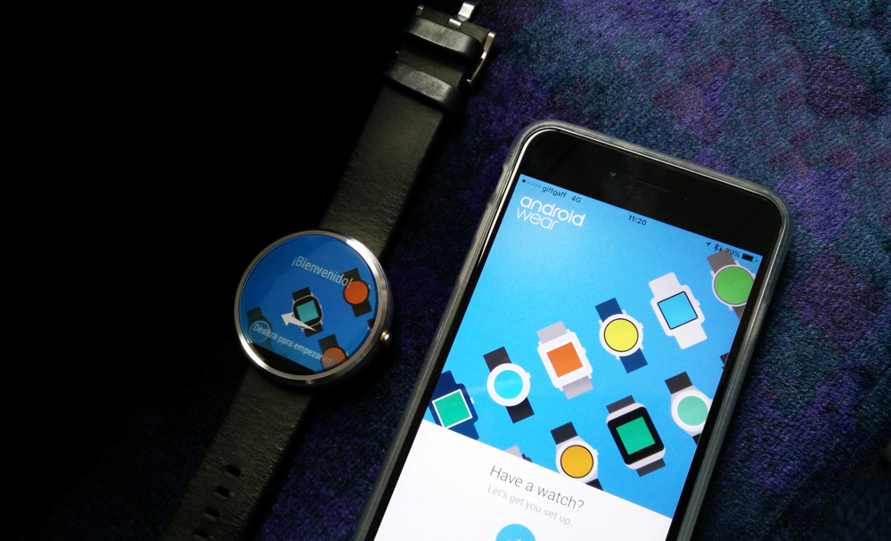 How to use your Moto 360 with your iPhone: Android Wear on ...