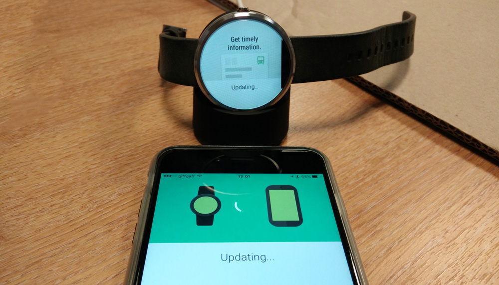 moto 360 for iphone how to use your moto 360 with your iphone android wear on 8829