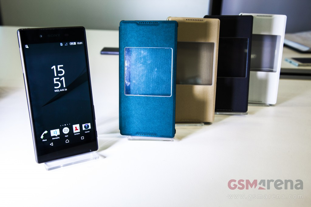 buy popular 34765 5f98e Official Sony Xperia Z5, Xperia Z5 Compact cases revealed | Mobile ...