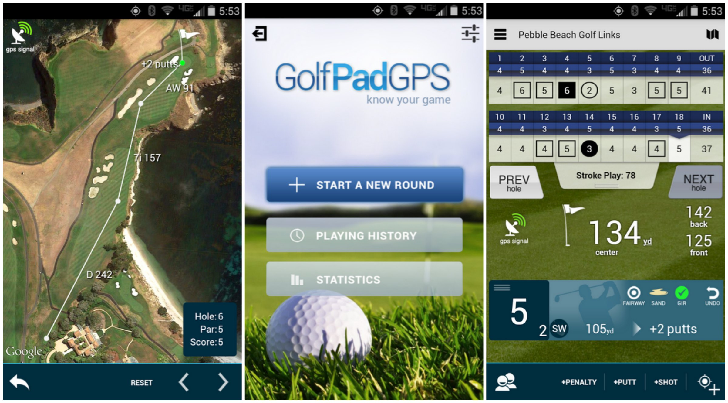 Top 5 Apps For Golfers Mobile Fun Blog