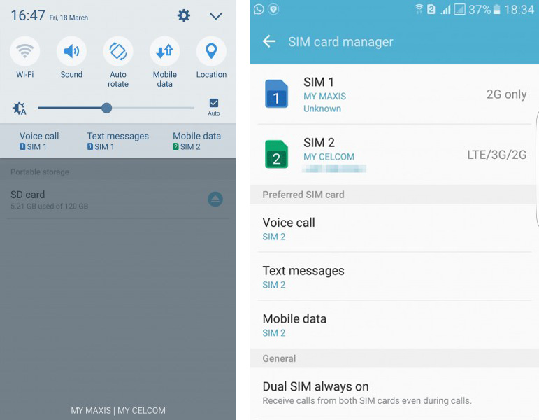 How to enjoy dual-SIM and micro SD simultaneously on the Galaxy S7