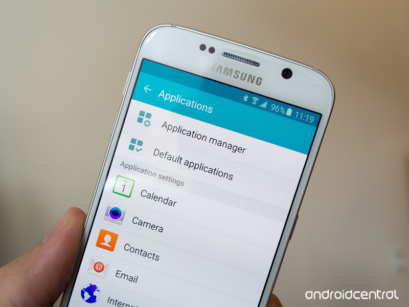 samsung galaxy s6 contacts folder
