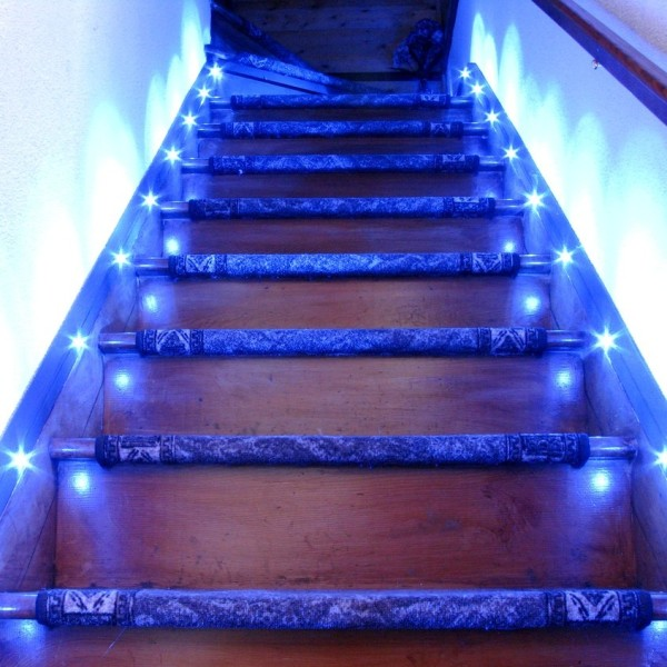 Lighting Basement Washroom Stairs: 5 Great Ways To Use LED Strip Lights