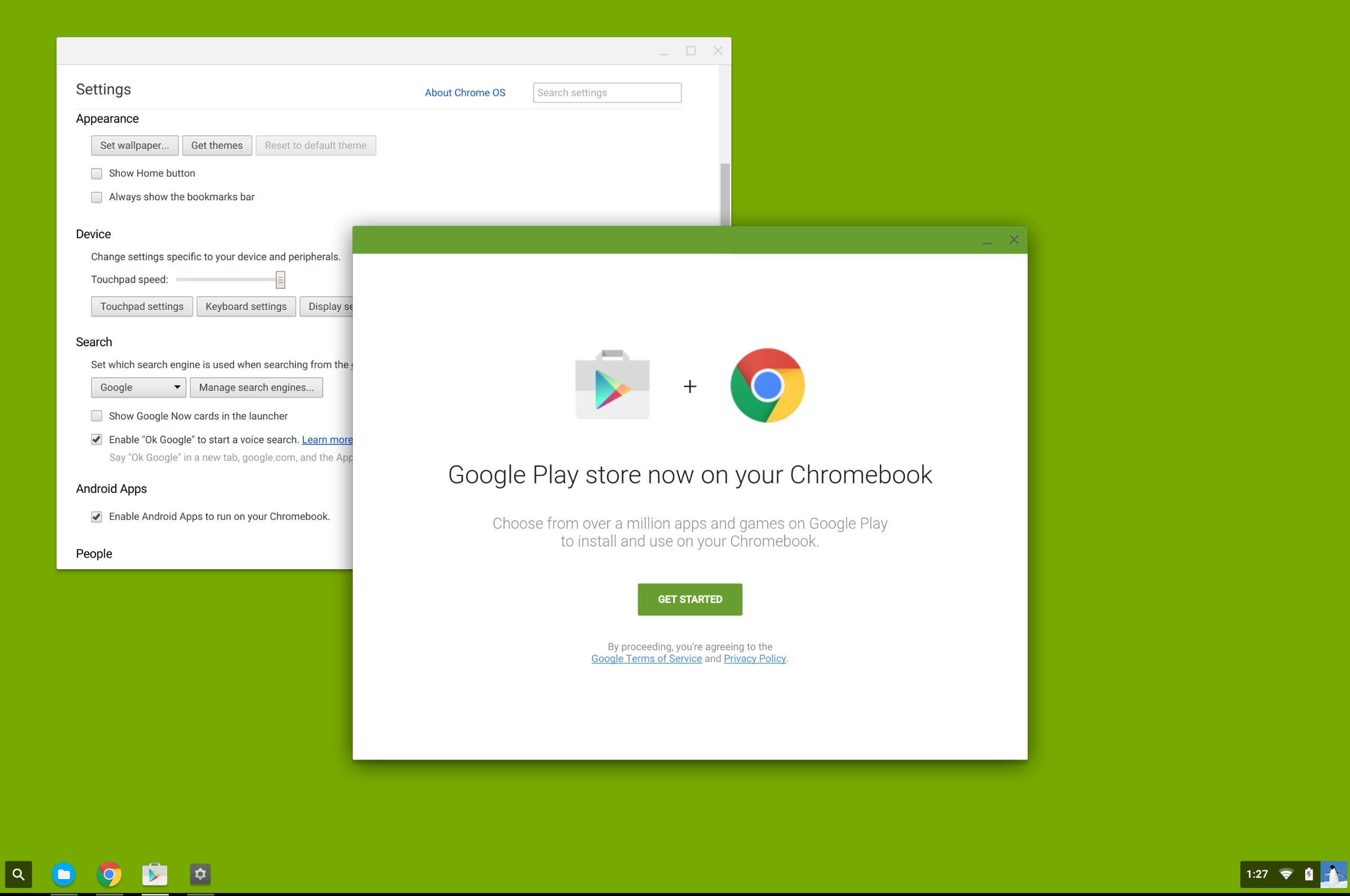 Screenshots show Google Play store coming soon to Chrome OS | Mobile
