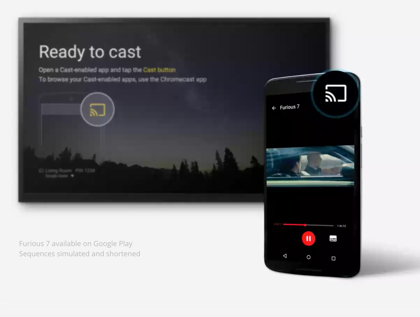 Connect phone to tv cast