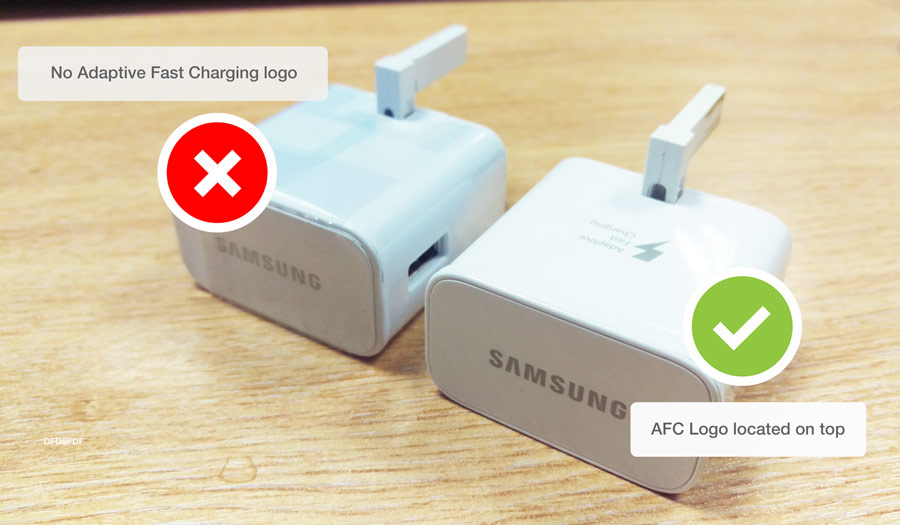 Is Your Samsung Fast Adaptive Charger Fake Mobile Fun Blog
