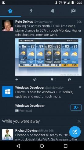 Twitter trialling 'dark mode' in new app | Mobile Fun Blog