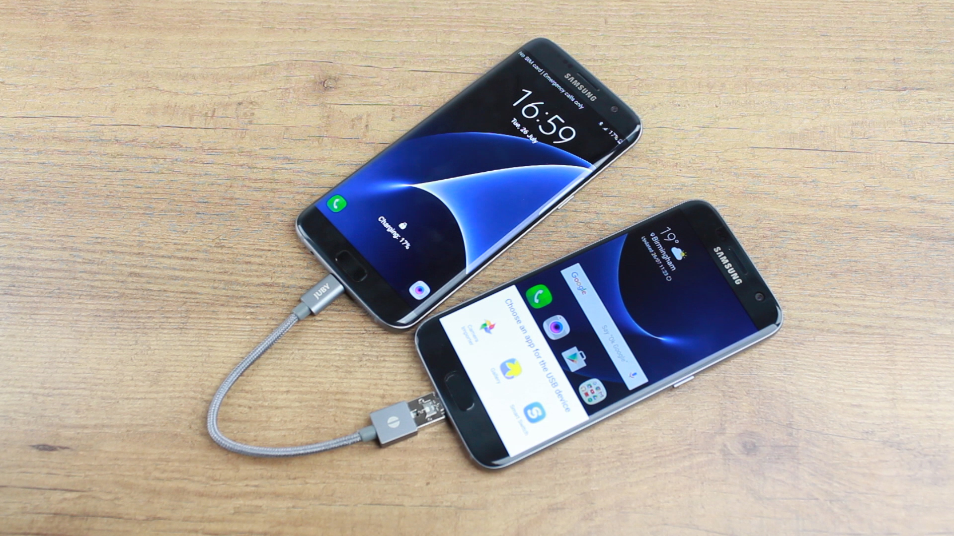 This video shows 5 smartphone charging hacks you never knew