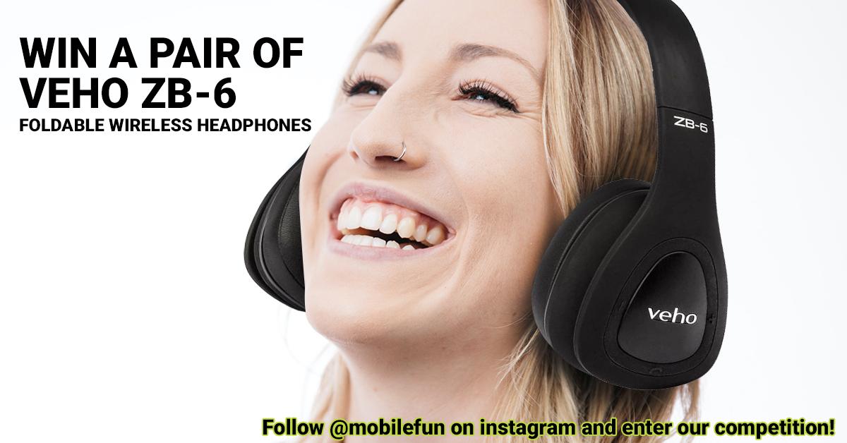 Veho ZB-6 Headphones Instagram Giveaway