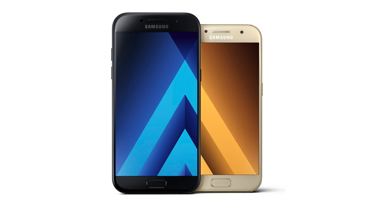 5263b3317 We're happy to announce exclusive UK prices for the 2017 editions of the Samsung  Galaxy A3 and Galaxy A5, available SIM-free and unlocked.