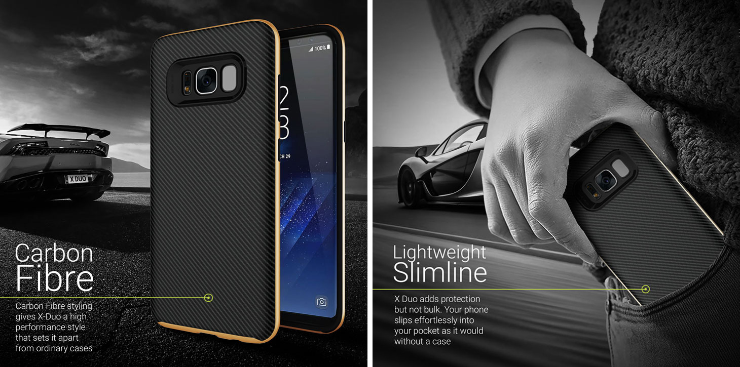 Coque Samsung Galaxy S8 Olixar X-Duo