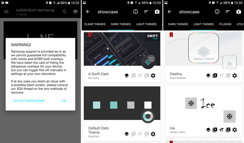 How to theme your Samsung Galaxy phone with Substratum | Mobile Fun Blog
