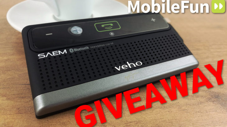 Mobile Fun Giveaway: Veho SAEM Ayrton Senna Bluetooth Speaker Car Kit